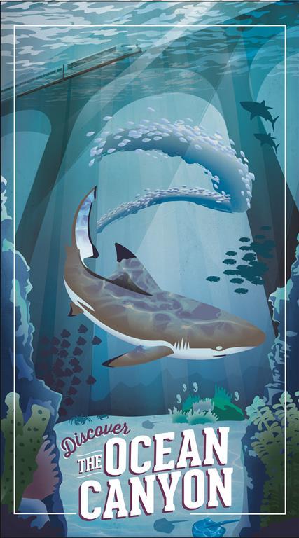 Ocean Travel Poster