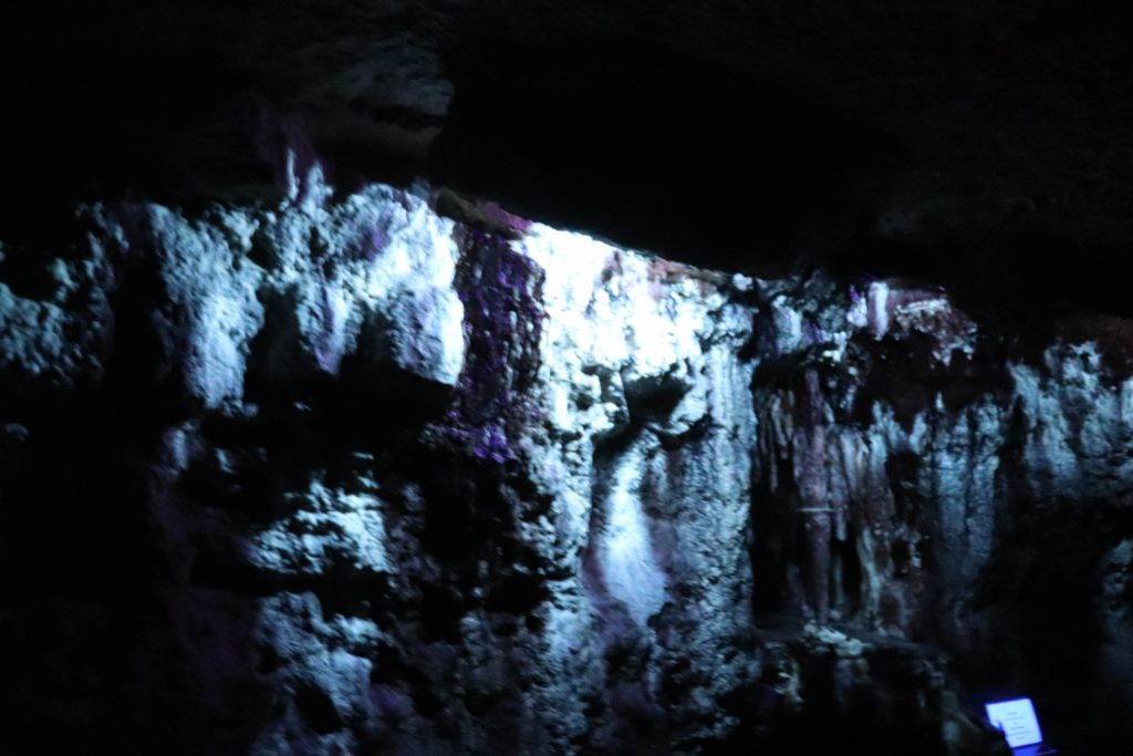 Glow in the dark cave