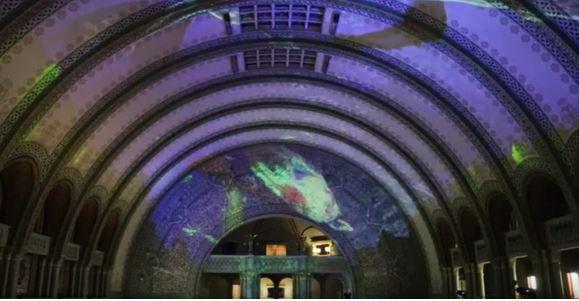 Laser Light Show Union Station