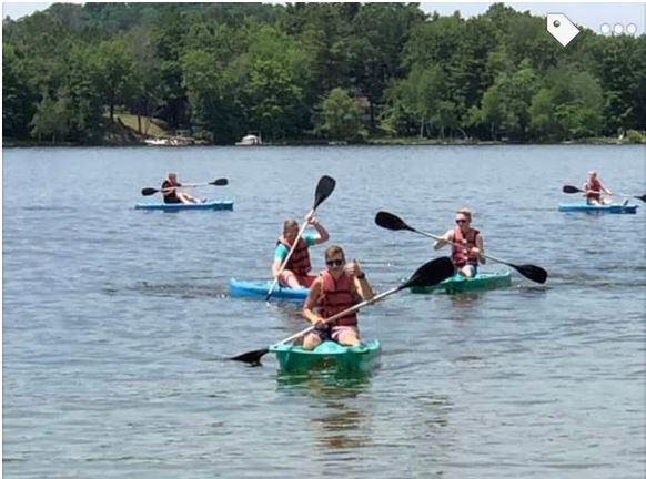 Recreactional Kayaking