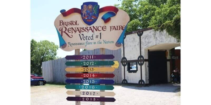 Renaissance Faire Sign