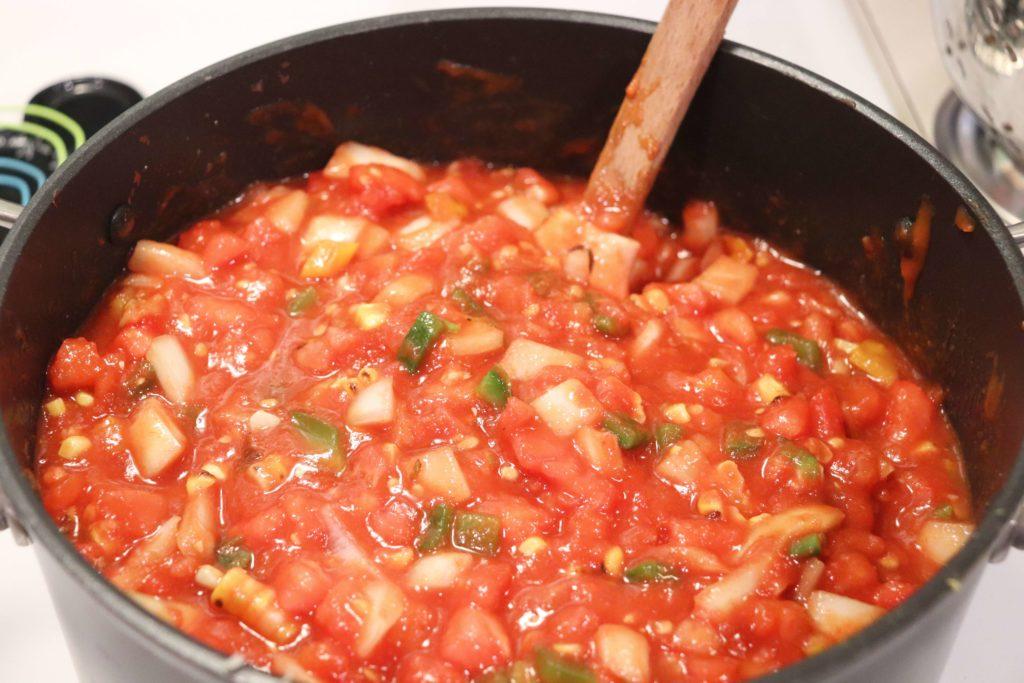 Simmering Salsa