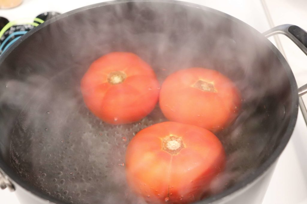 Water Bath Tomatoes