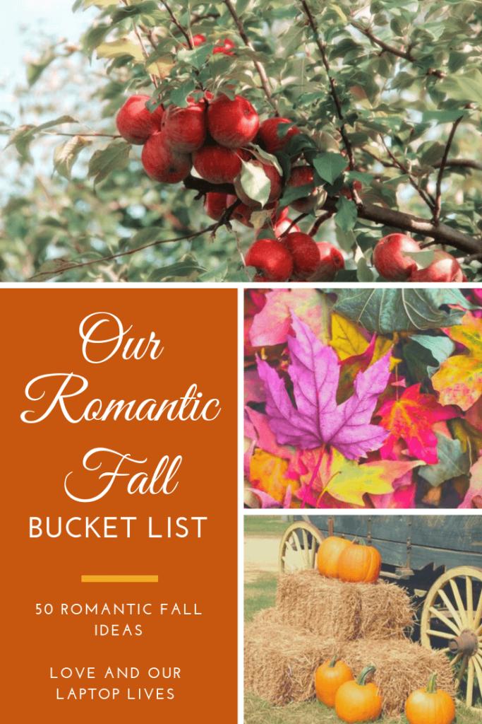 Fall Romantic Bucket List