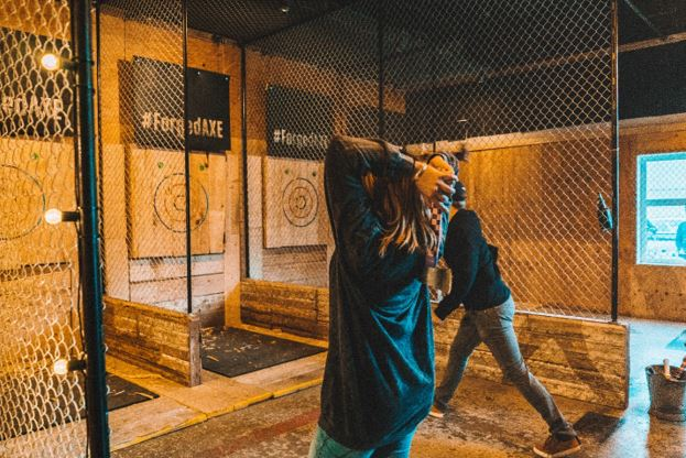 Forge Axe Throwing