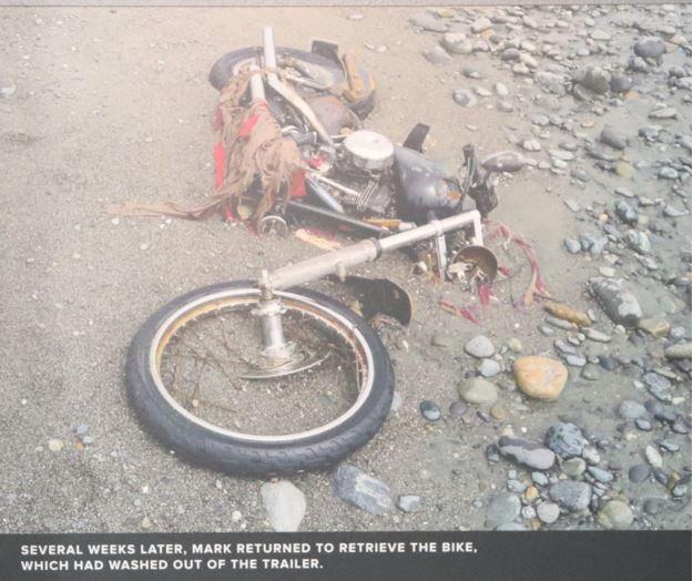 Harley Davidson in the sand