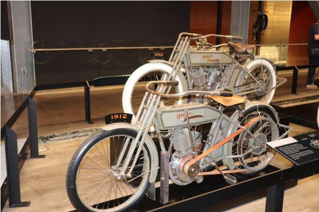 1912 and 1913 Harley Davidson