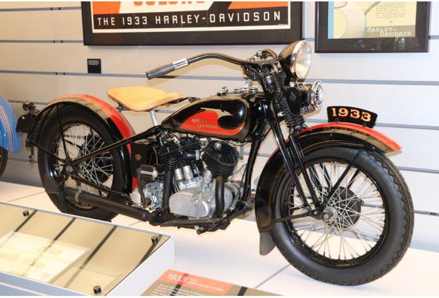 1933 Harley Davidson