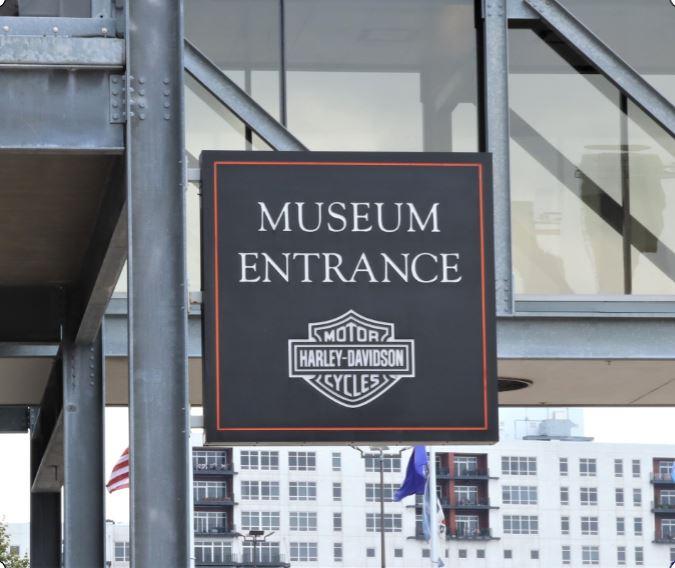Harley Davidson Museum Entrance