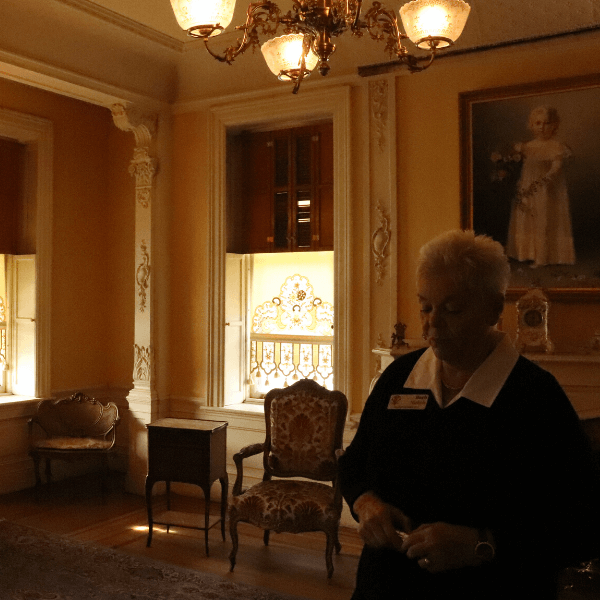 Our Docent Barb
