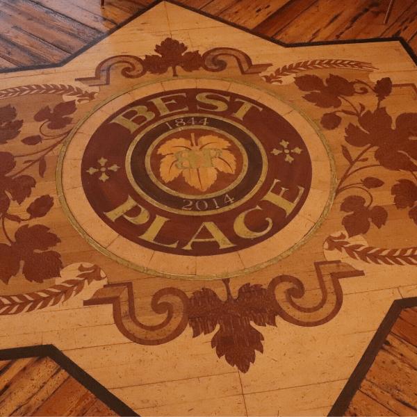 best place floor logo