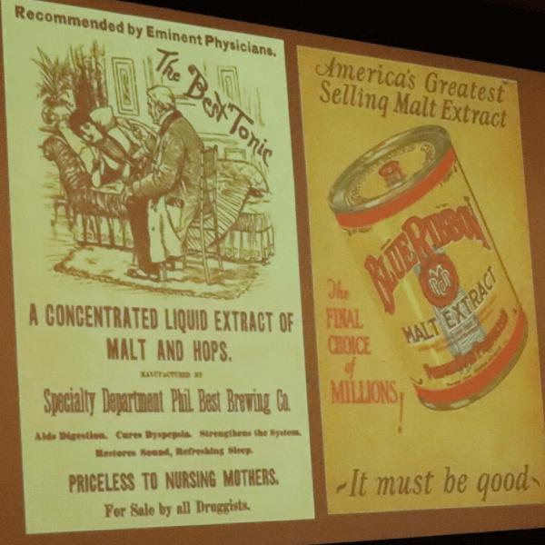 Malt Extract advertizing