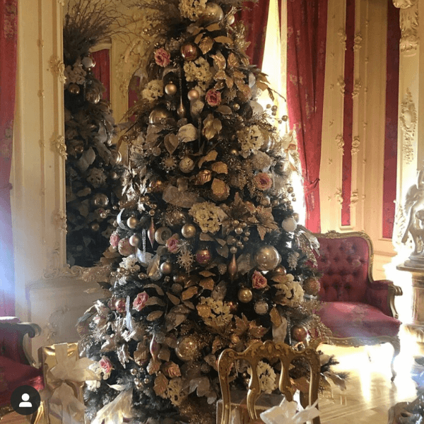 Pabst Mansion christmas Tree