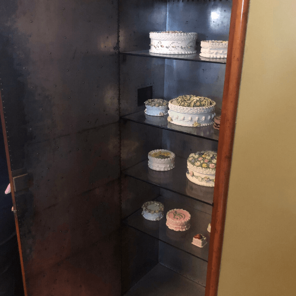 Pie safe at the Pabst Museum