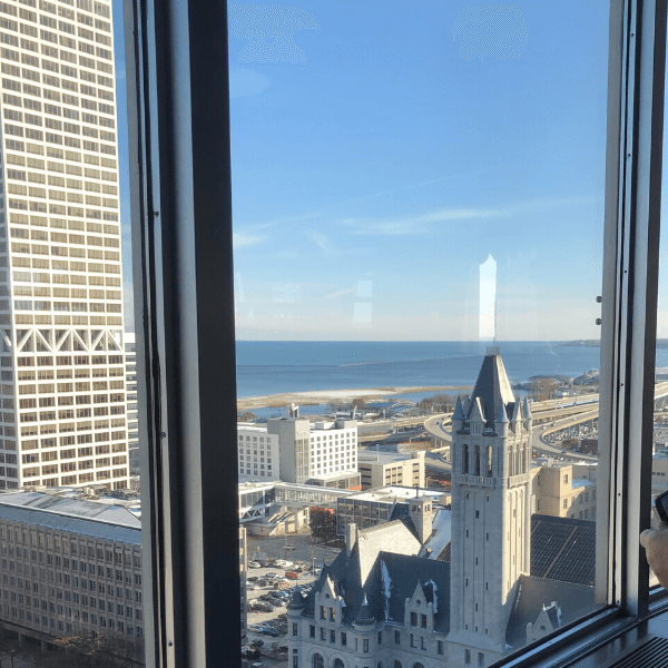 View from the Pfister