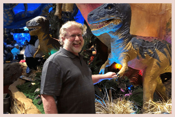 Gary and the Dinosaur
