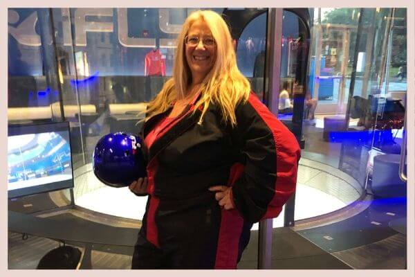Michelle at iFly