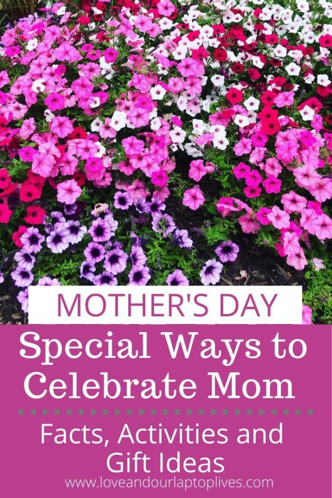 Mother's Day Facts Activities and Gifts