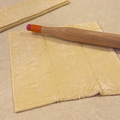 Roll out pastry dough