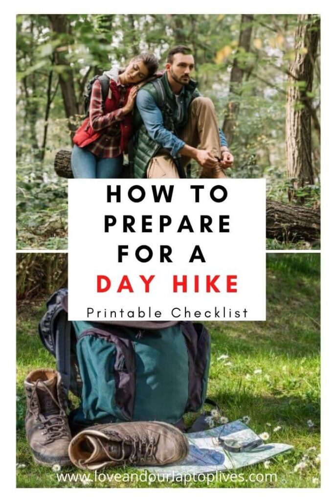 How to prepare for a day hike