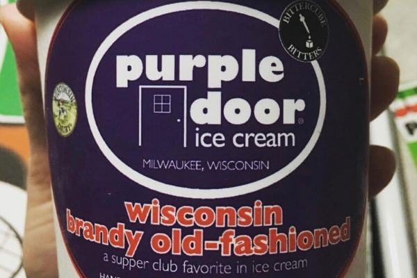 Brandy Old Fashioned Ice Cream