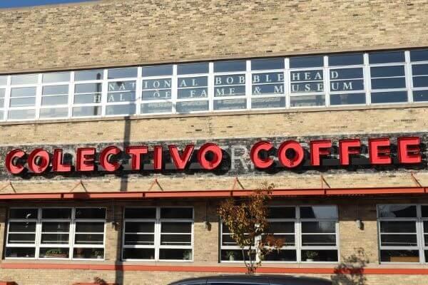 Colectivo coffee in Milwaukee's Historic Third Ward