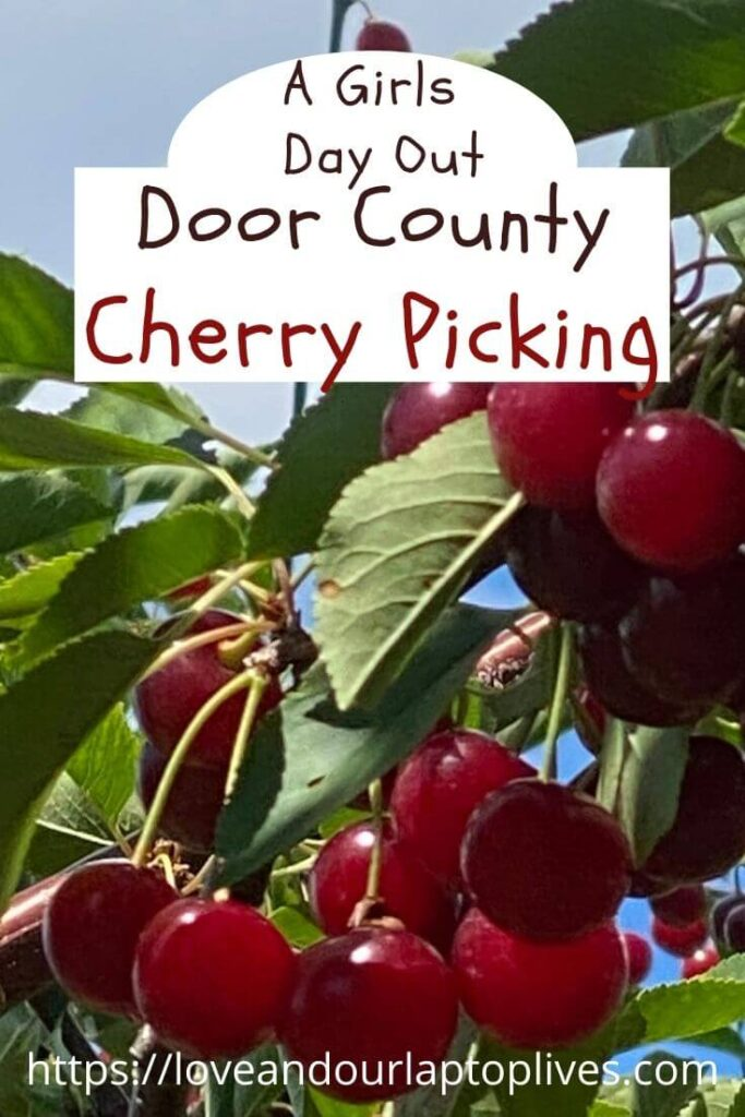 A Girls Day out Door County Cherry Picking