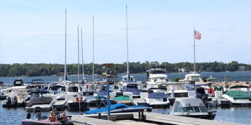 Door County Marina ~ Egg Harbor