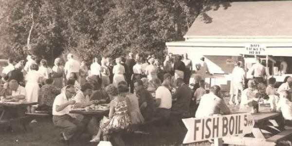 Early Wisconsin Fish Boil