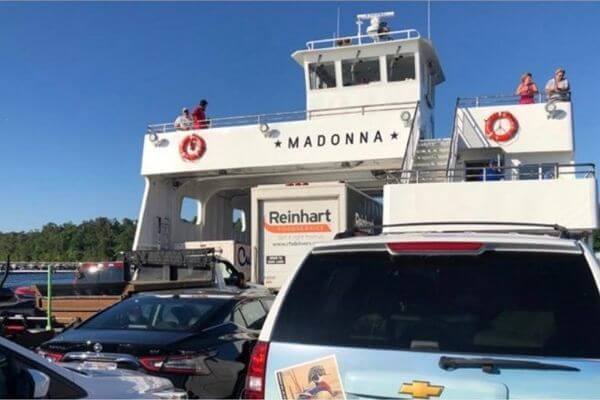 Madonna Washington Island Ferry