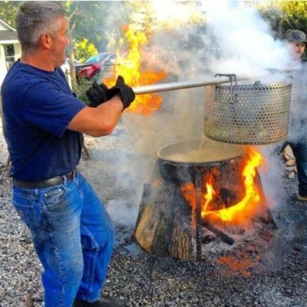 Wisconsin Fish Boil a Door County Tradition