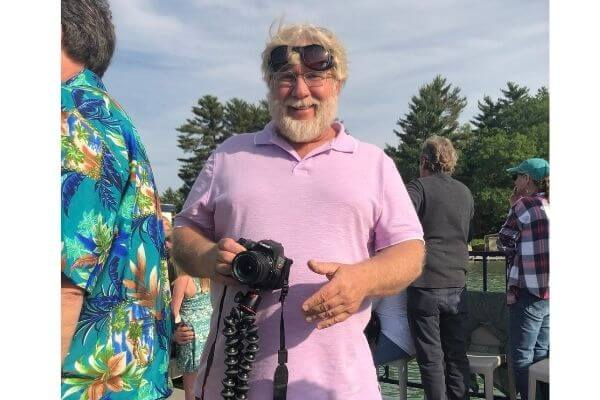 Gary with his cannon camera