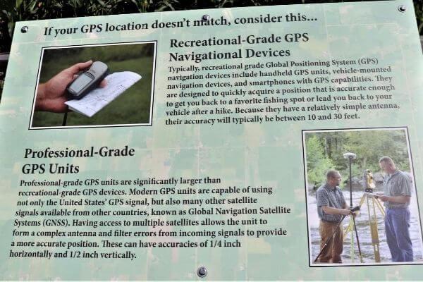 GPS sign