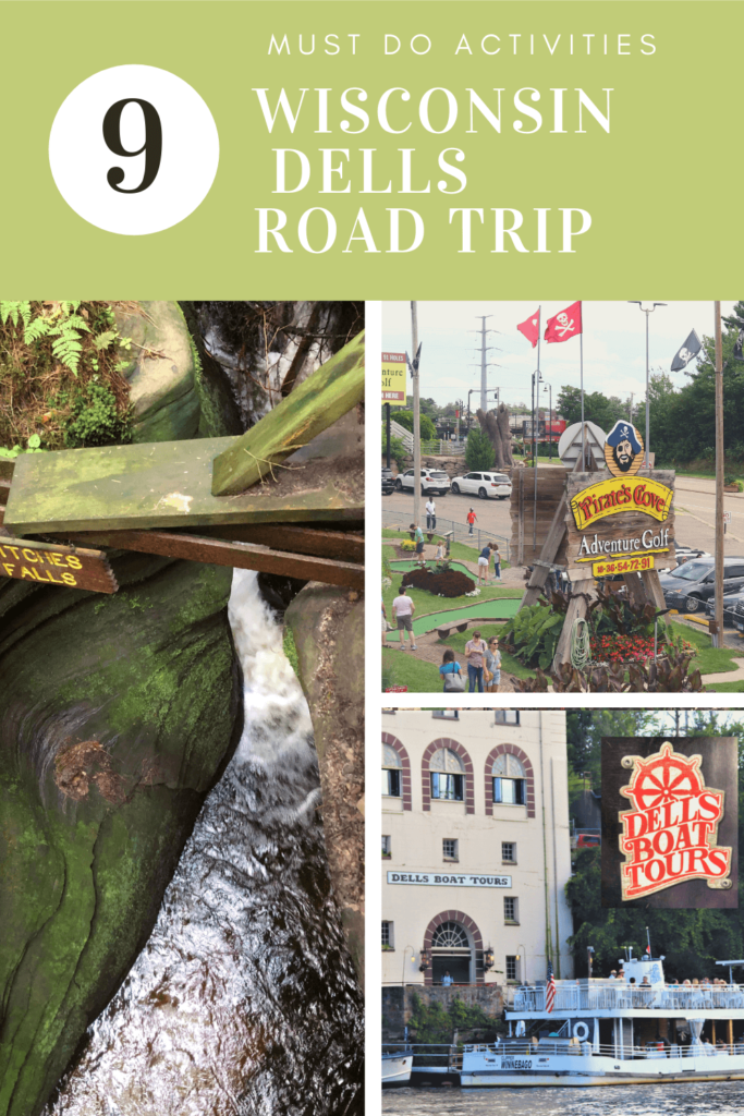 9 Must do activities wis. dells road trip
