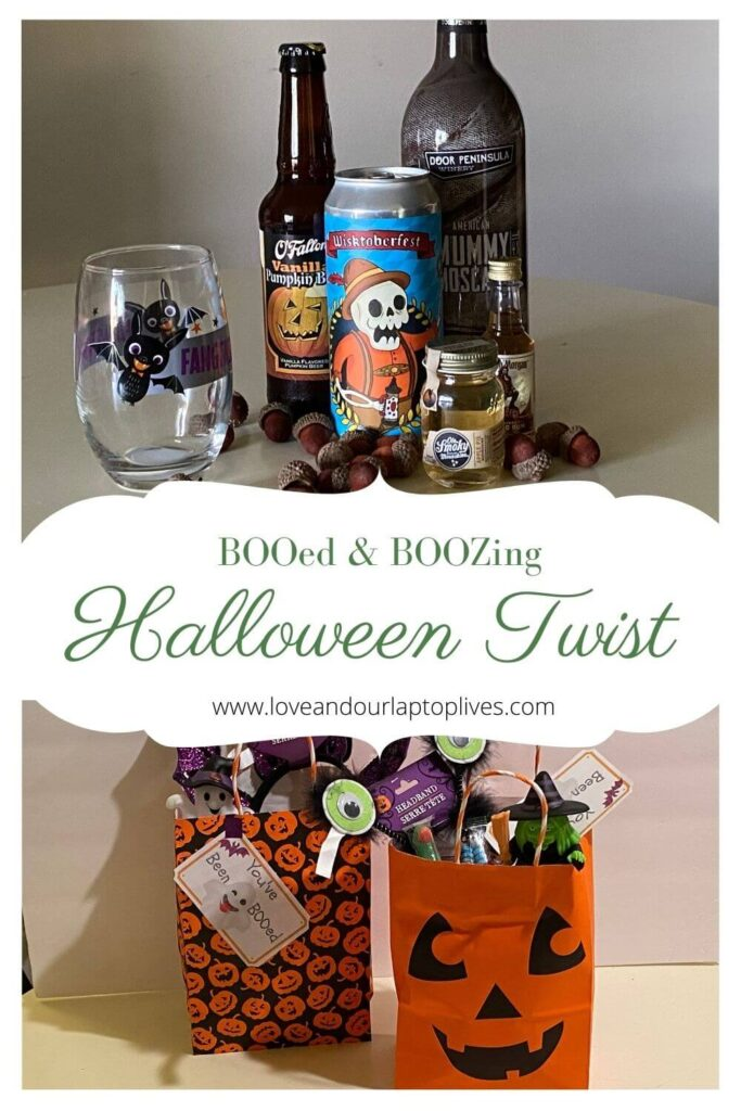Halloween Tradition of BOOing and BOOZing