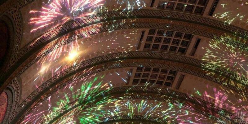 Grand Hall Fireworks