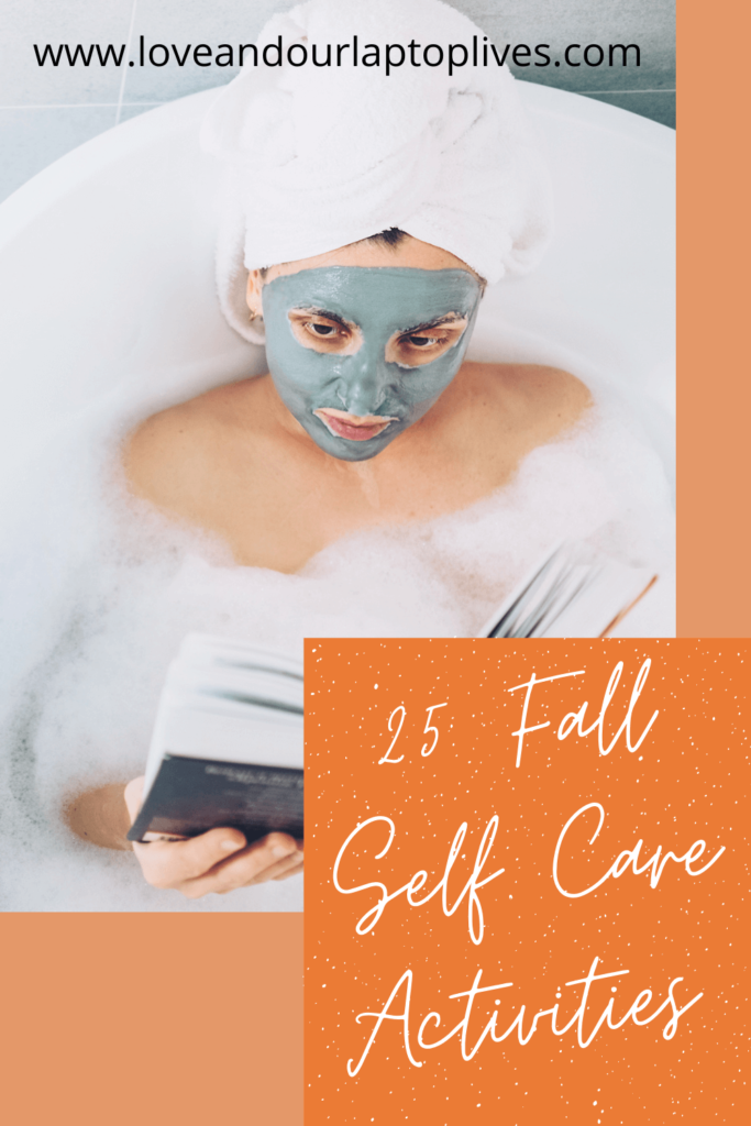 25 Fall Self Care Activities