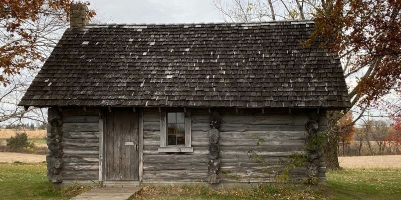 Laura Ingalls Wilder cabin in Pepin
