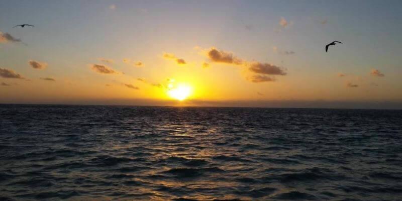 Breathtaking sunset on Anna Maria Island