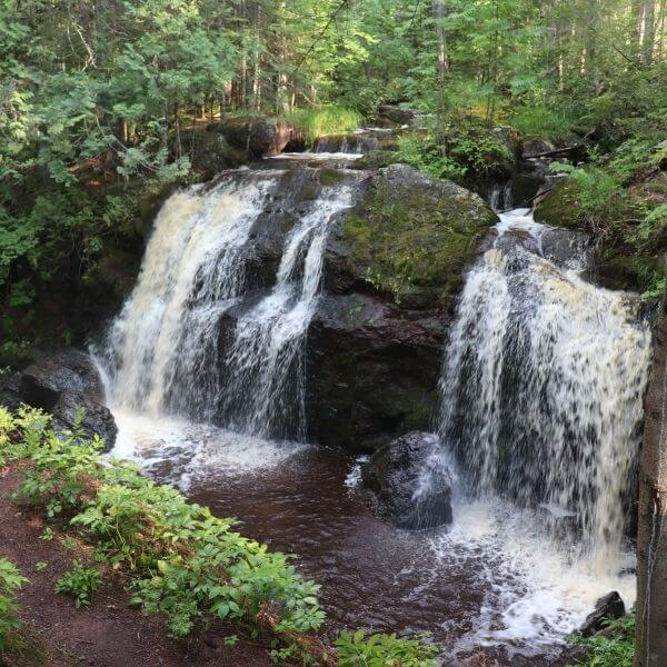 Exploring Wisconsin's Tallest Waterfall on this Amazing Waterfall Road Trip