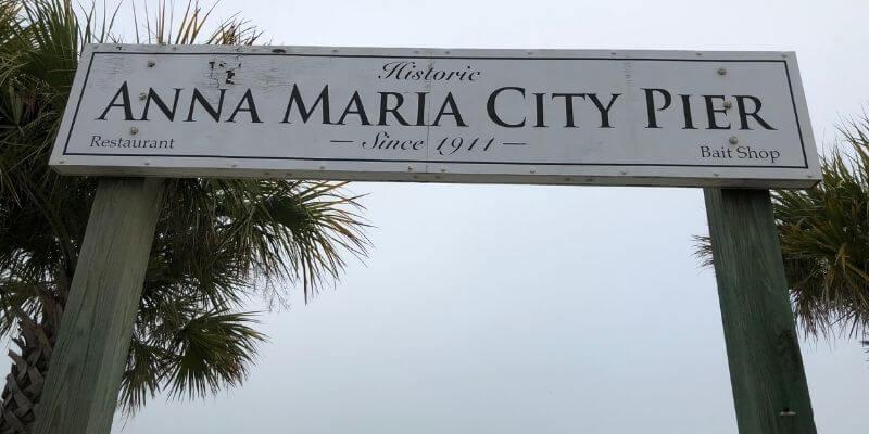 Anna Maria City Pier Sign