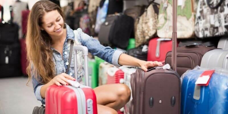 Luggage shopping