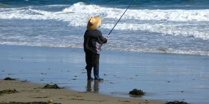 Fishing on Tybee Island