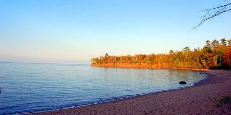 Big Bay Beach on of the best beaches in wisconsin