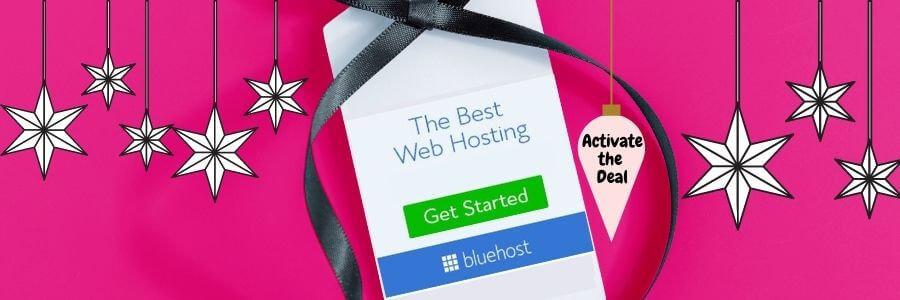 Black Friday Bluehost deal for bloggers