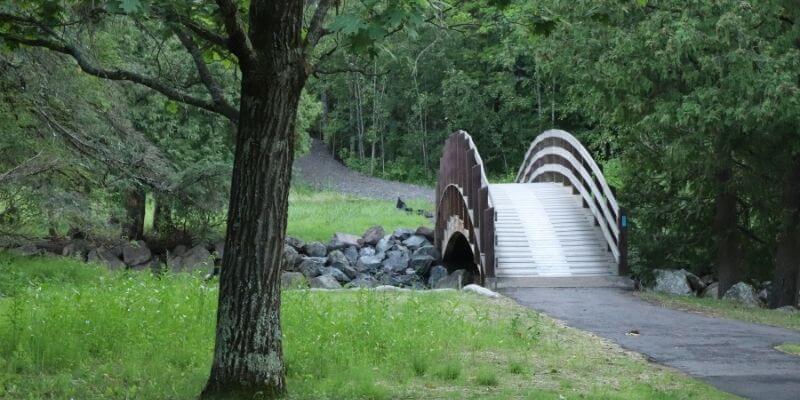 Pattison State Park Bridge