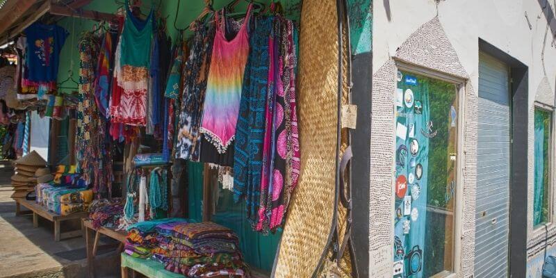 Shopping on Tybee Island