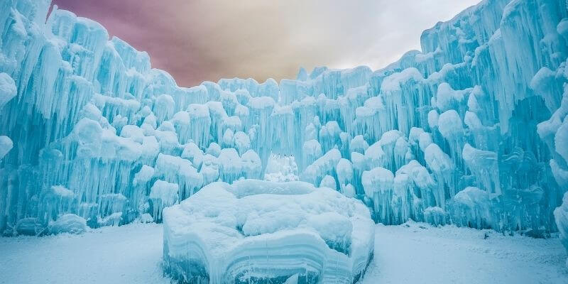 Lake Geneva Ice Castle