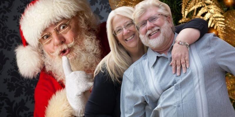 Gary Michelle and Santa