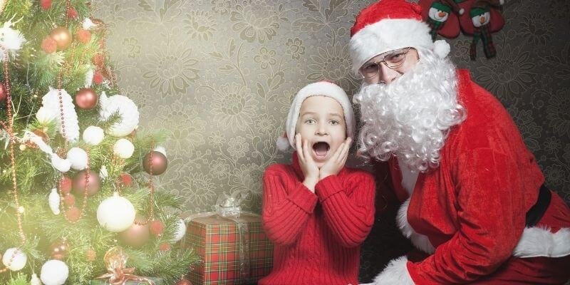 A Christmas tradition of seeing Santa